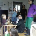 Ein Stall voller königlicher Kinder bei Lili in Schopfheim.