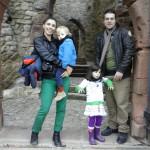 Königin, König, Prinzessin & Prinz aus Brasilien in Lörrach auf der Burg Rötteln